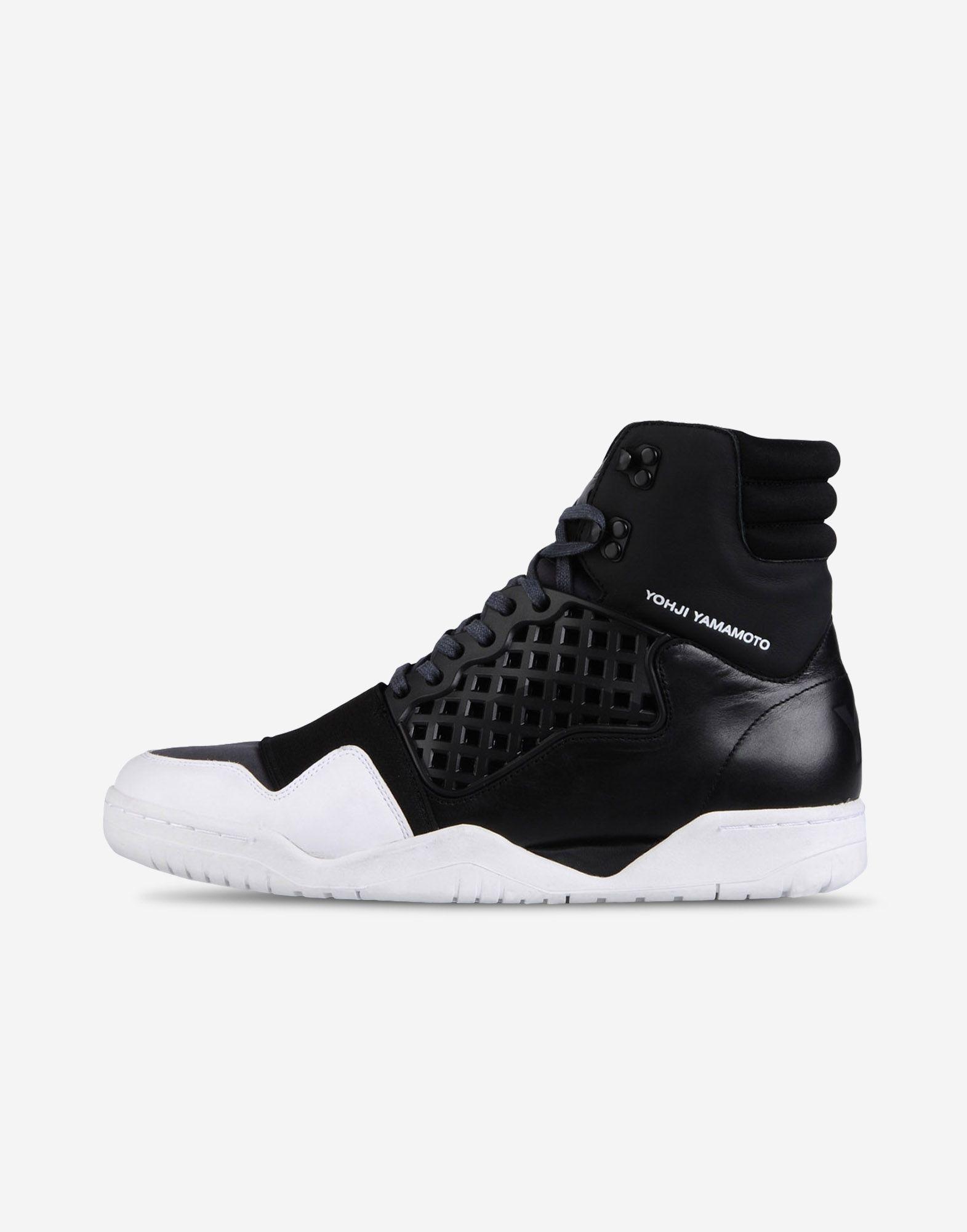9ac493002 Y-3 Y-3 HELD ENFORCER High-top sneakers Man f Adidas Sneakers