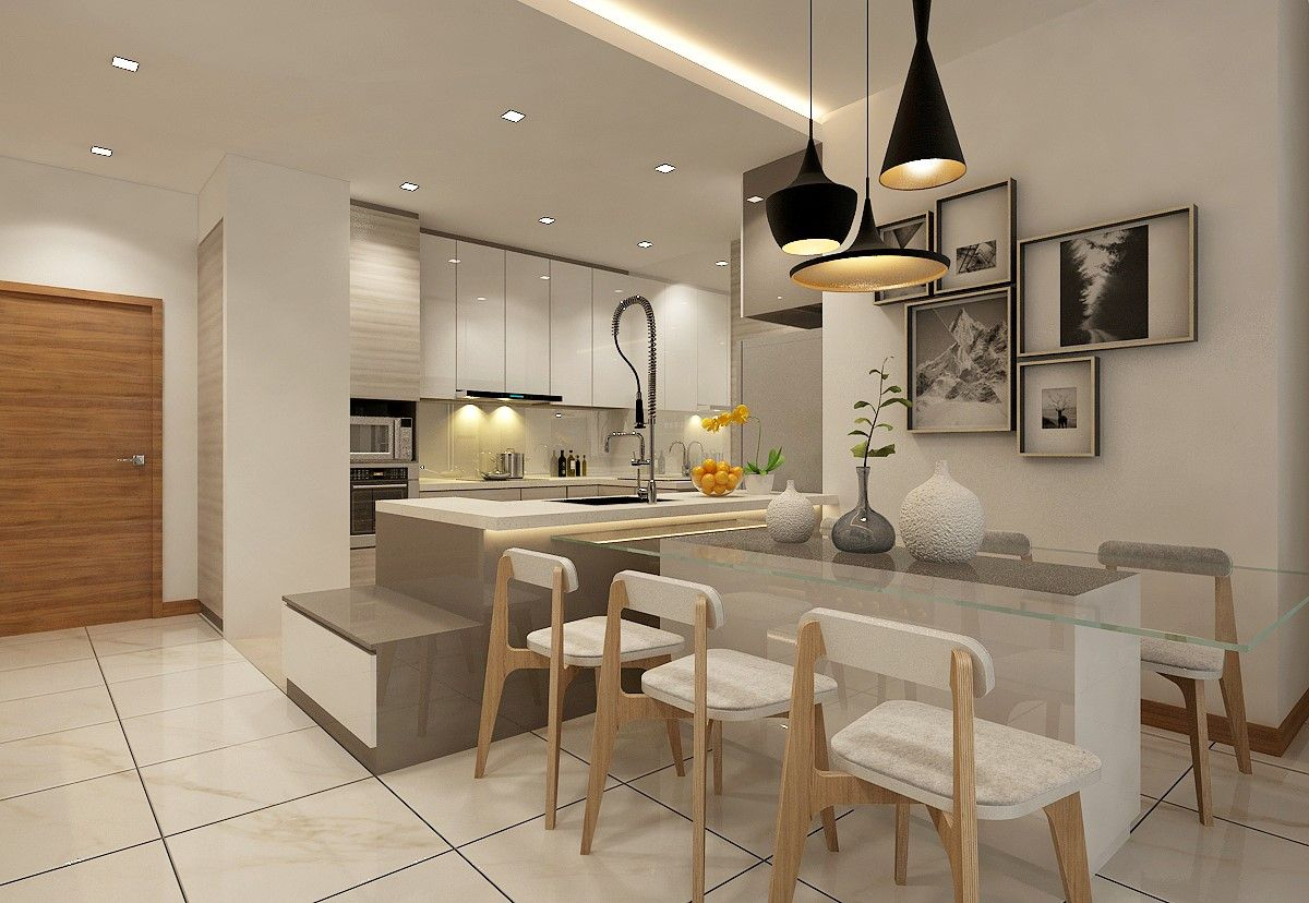 Residential Home Interior Design Contractor In Singapore Eight Design Interior Design Kitchen