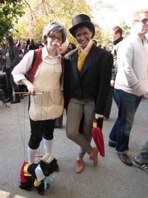 As Pinocchio Gepetteo And Jiminy Cricket Halloween Costumes Women Disney Halloween Cruise Dress Up