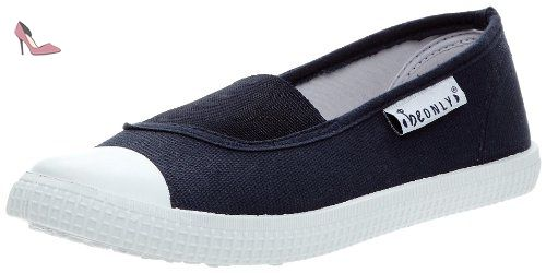 Be Only Canvas Buzz Elastique, Ballerines femme - Marine, 37 EU -  Chaussures be