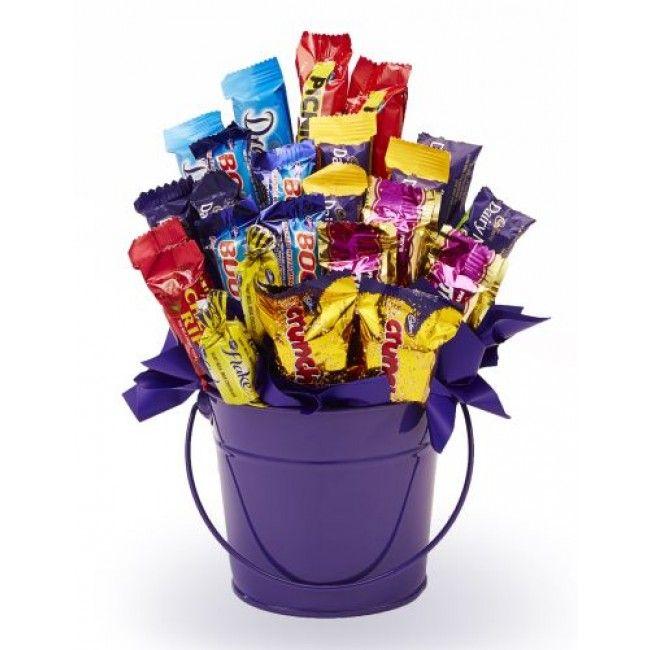 Happy Birthday Lois Mini Heart Tin Gift Present For Lois WIth Chocolates