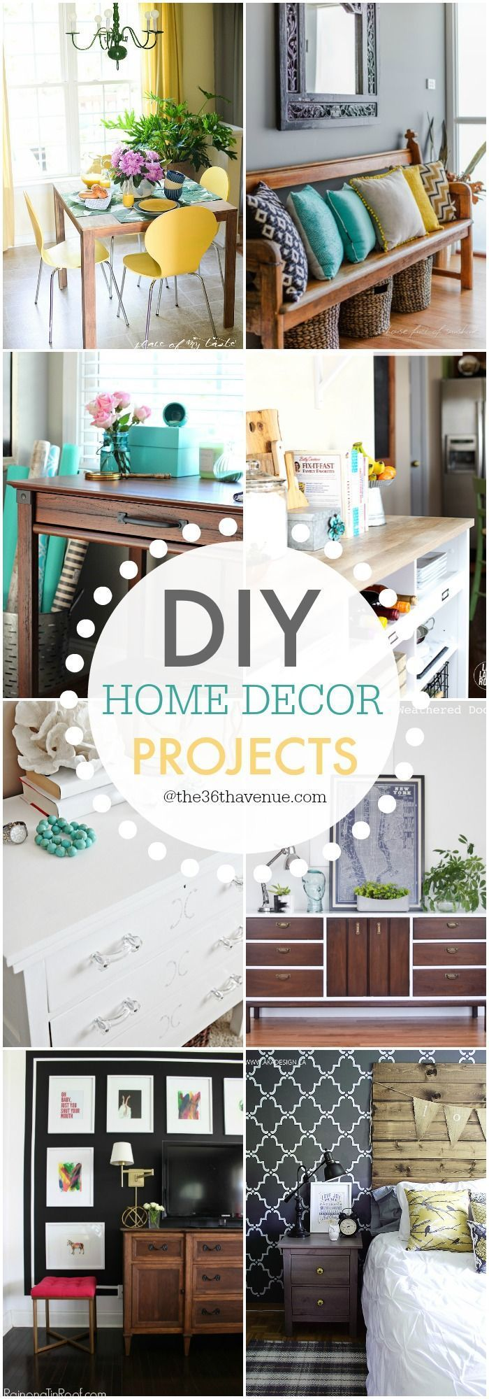 DIY Home Decor Projects and Ideas | Decorating, Hacks diy and Craft