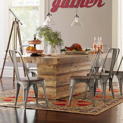 Whiskeytown Plank Dining Table  Dining Room Table Ideas Custom Plank Dining Room Table Inspiration