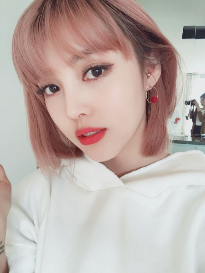Pony - Park Hye Min - 박혜민 - 포니 - Korean makeup artist - Pony beauty diary - Ulzzang | I see you | Pony makeup, Korean Makeup, Korean makeup look