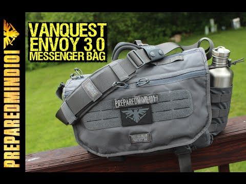 9dab23bafef3 (96) Vanquest Envoy 3.0 Tactical Messenger Bag - Urban EDC Bag on Steroids  - YouTube