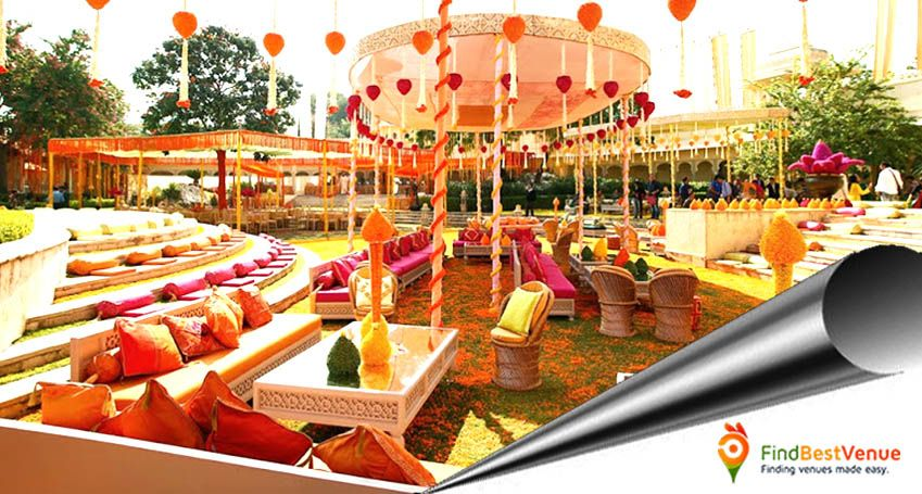 A Grand Occasion calls for a Grand Venue too. Find yours at #FindBestVenue. #WeddingsinMumbai