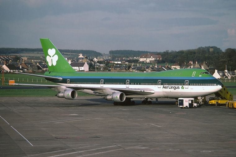 Aer Lingus Boeing 747 100 Photo By Alistair Bridges With Images