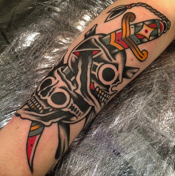 5bbe01352 Hugh Sheldon - London Traditional Tattoo Artist | Tattoos | Cloak ...