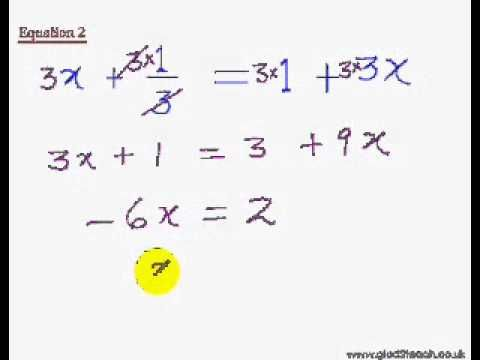 EasyCal 14 Linear Equation 1 How to Solve Linear Equations