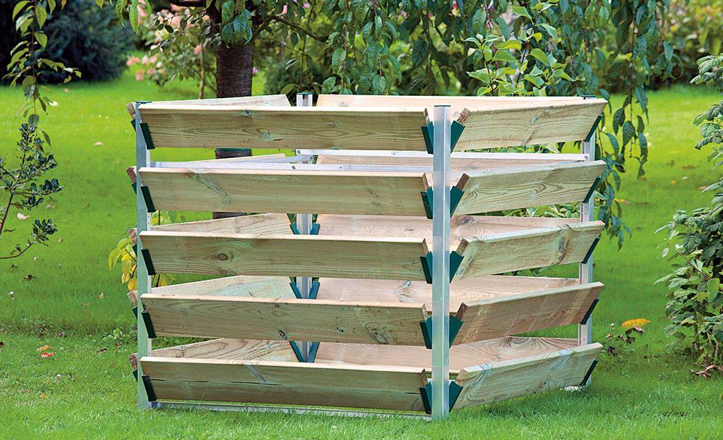 Komposter Selbst De Kompost Komposthaufen Garten