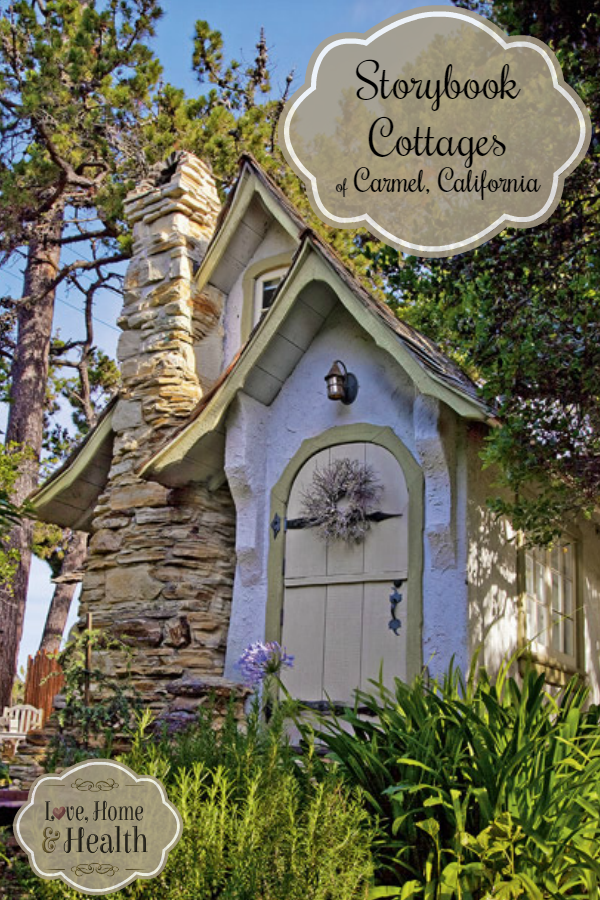 Storybook Cottages of Carmel California Storybook cottage