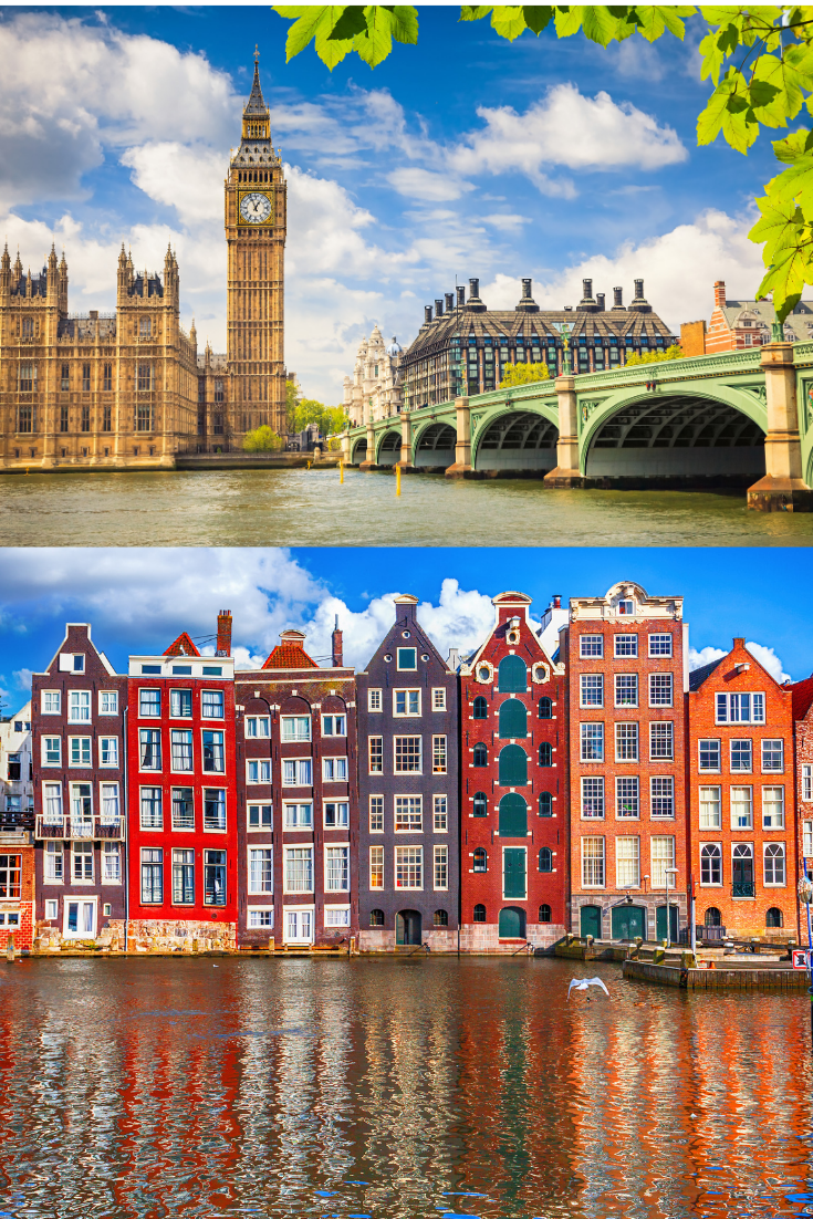 Enter KLM Airlines - 100 Years of KLM Sweepstakes for a free trip to London or Amsterdam #Amsterdam #Netherlands #Dutch #Holland #London #England #travel #freetravel #UK #travelgoals #citybreak #budgettraveler #BudgetTravel #CheapTravel #KLMAirlines #contest #giveaway #trip