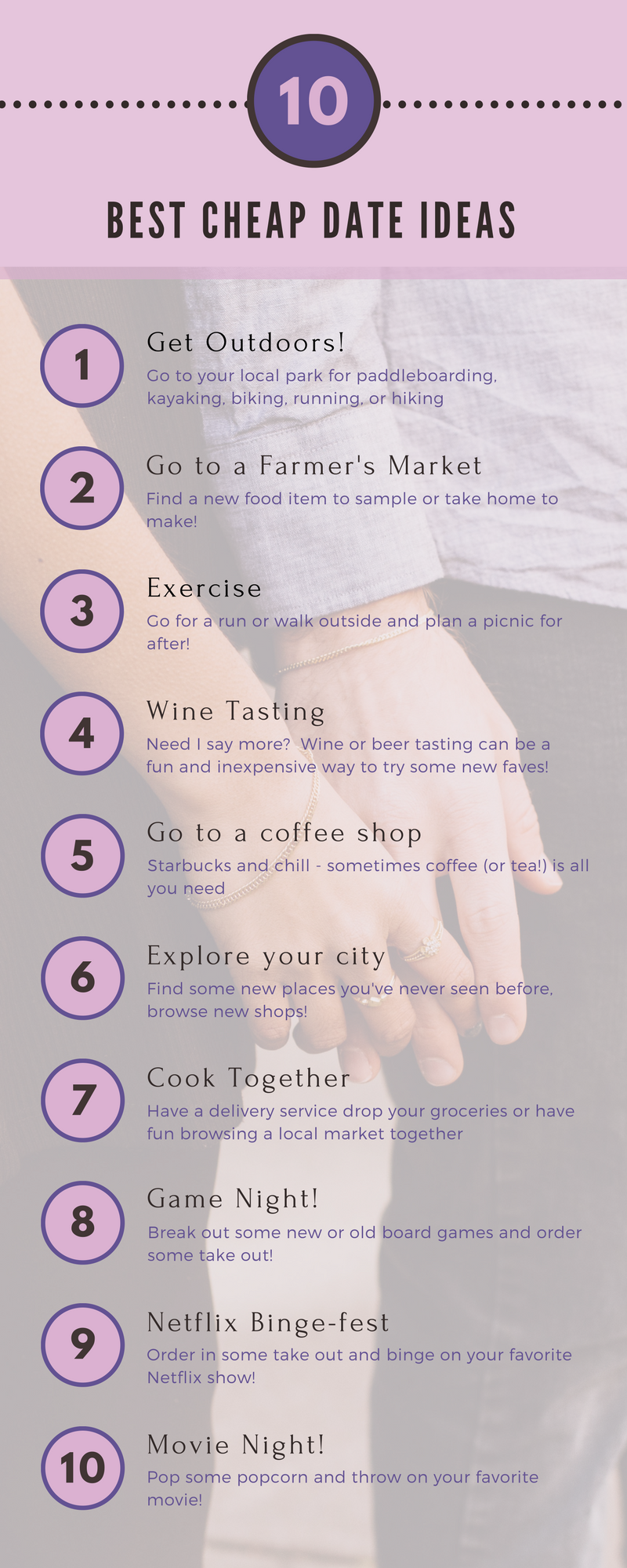 10 Cheap Date Ideas for Couples on a Budget | Craft