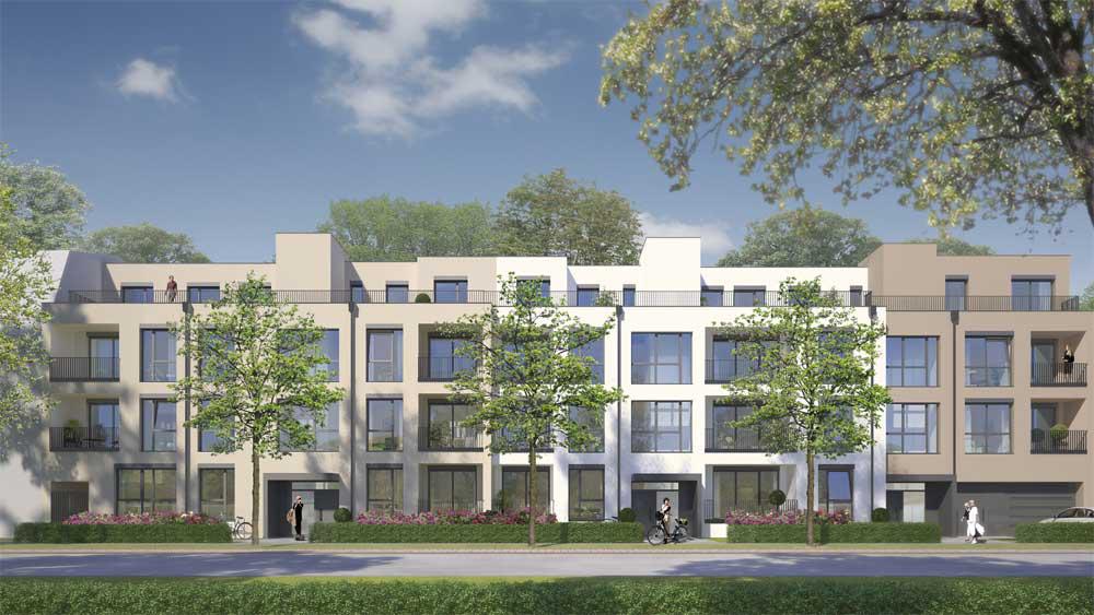 """Neubau von 20 Eigentumswohnungen im Neubauprojekt """"La Cité"""