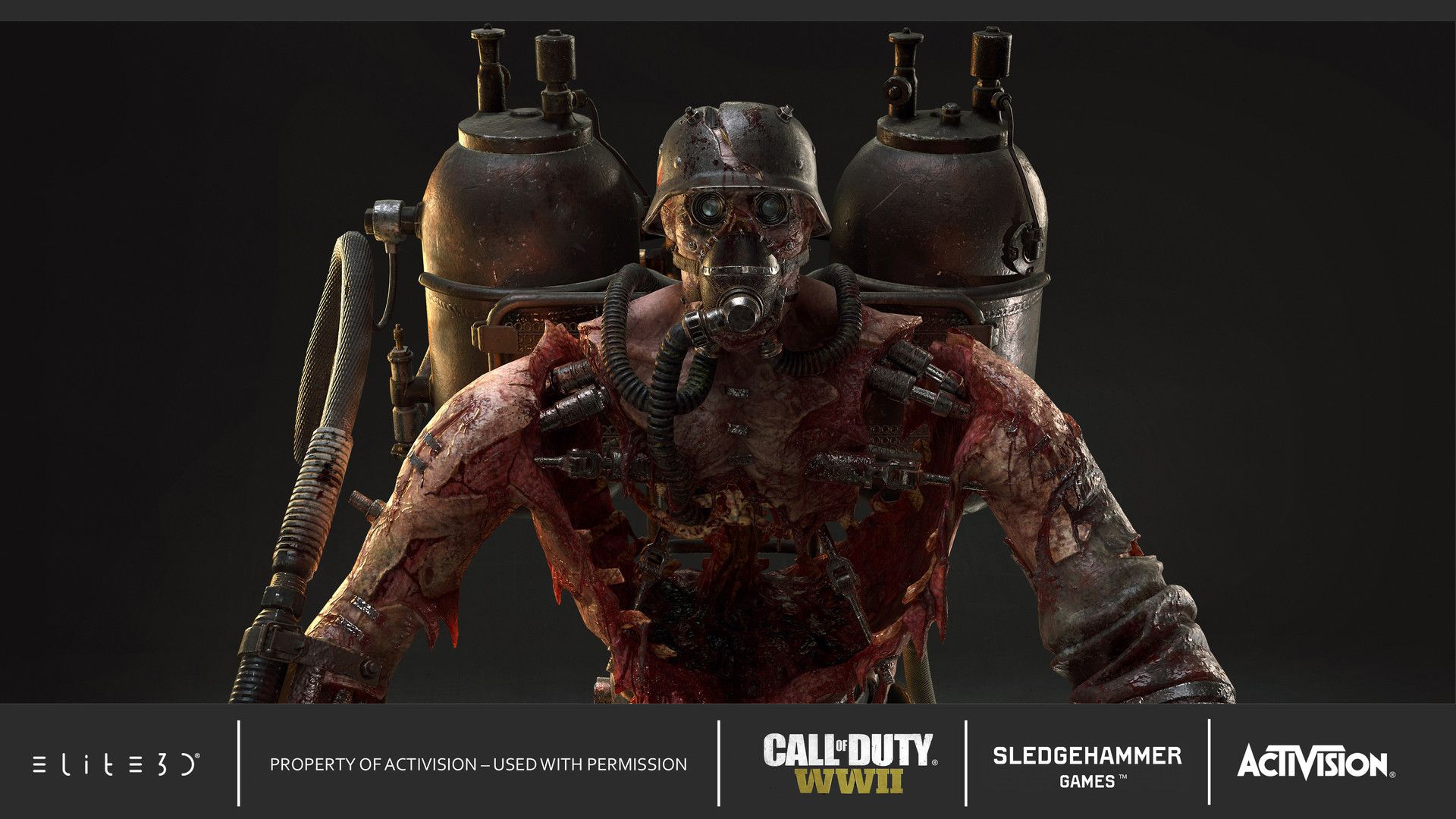 Artstation Call Of Duty Wwii Brenner Jose Cifuentes In