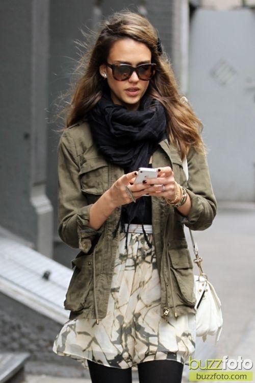 Celebrity Street Style - Style de rue des célébrités : Jessica Alba