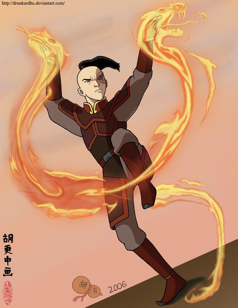 Prince Zuko Firebending