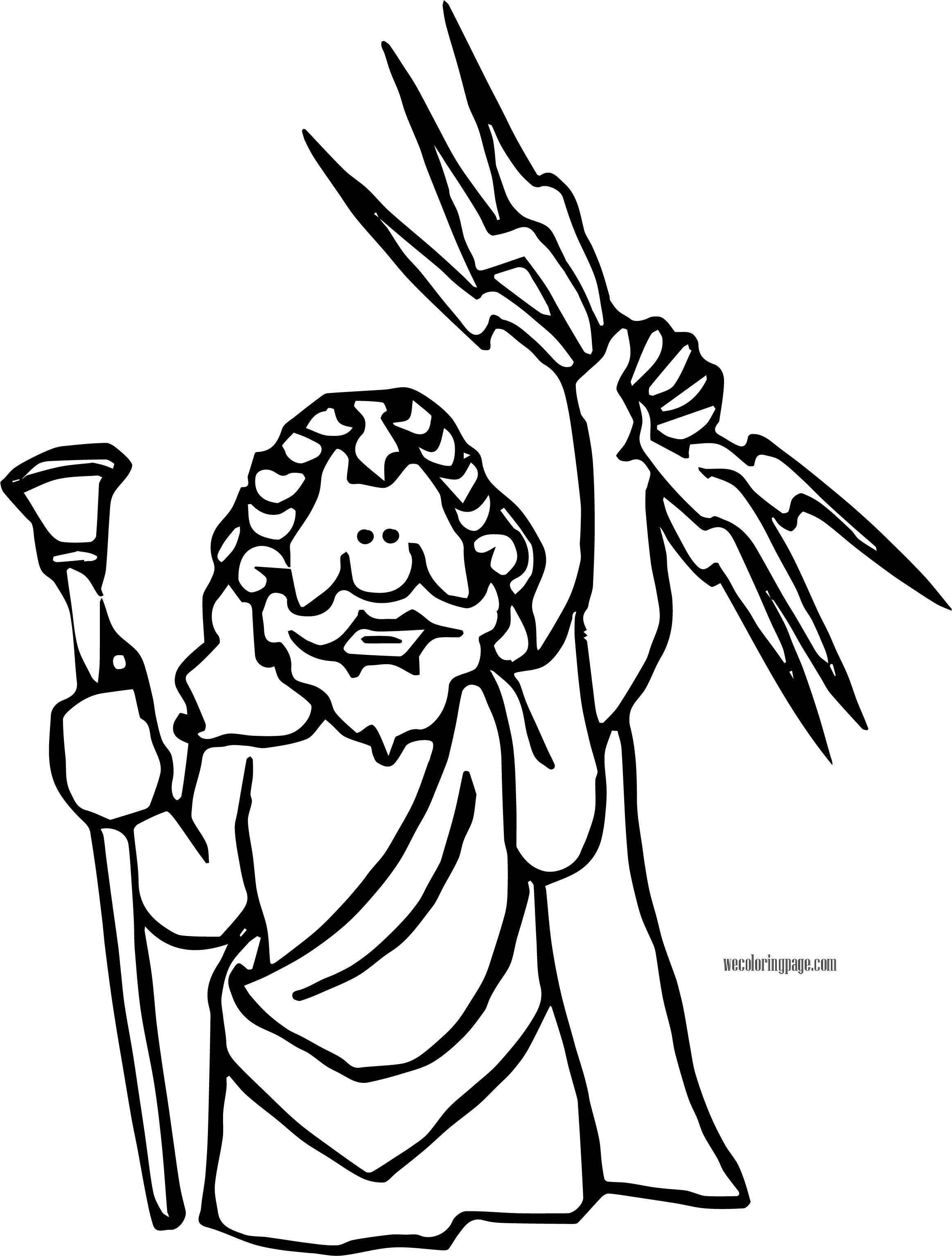 Jupiter Zeus Coloring Page Wecoloringpage Com Coloring Pages