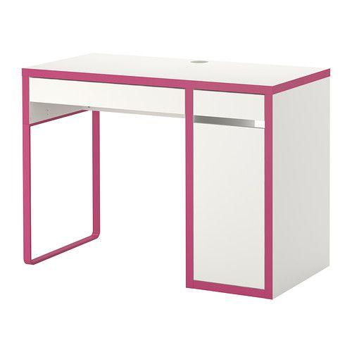 Schreibtisch weiß ikea mädchen  MICKE Schreibtisch - weiß/rosa - IKEA | Home /Kinder | Pinterest ...