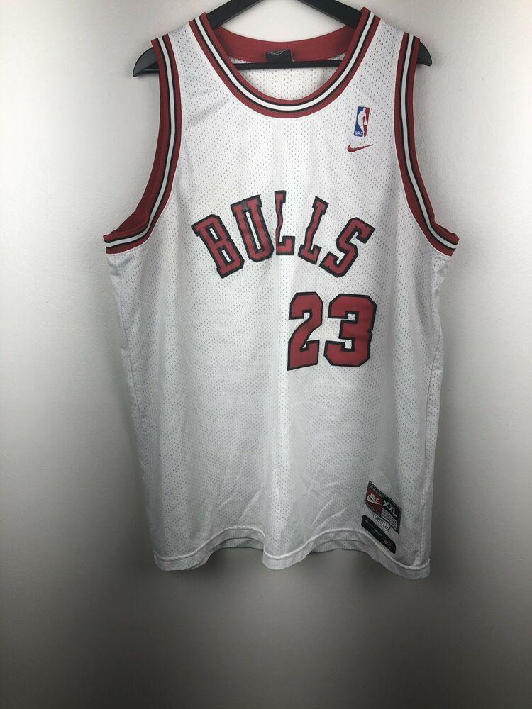 top fashion dfb21 220e1 Nike NBA Chicago Bulls Michael Jordan Jersey Size XXL | eBay ...