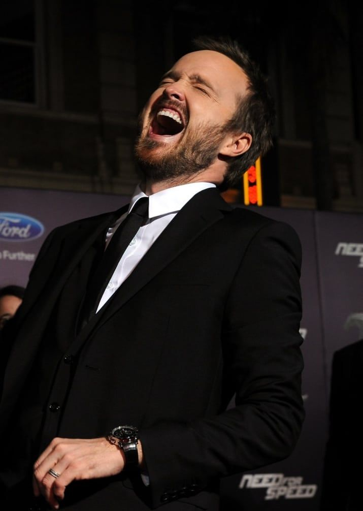 The 32 Best Aaron Paul Faces Of 2014