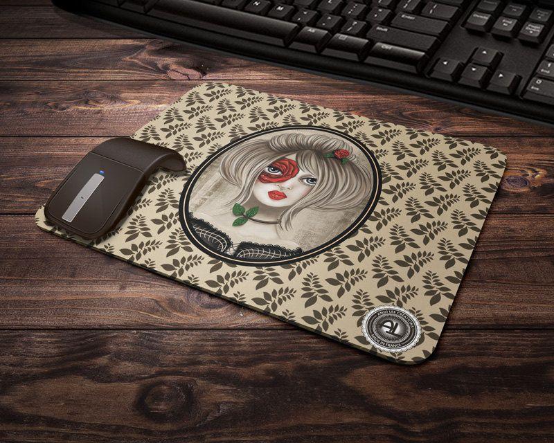 Tapis De Souris Rosee Accessoire Informatique Cadeau De Bureau Dessin Original Graphisme Et Impression By Andi Lee Case Electronic Products Phone Cases