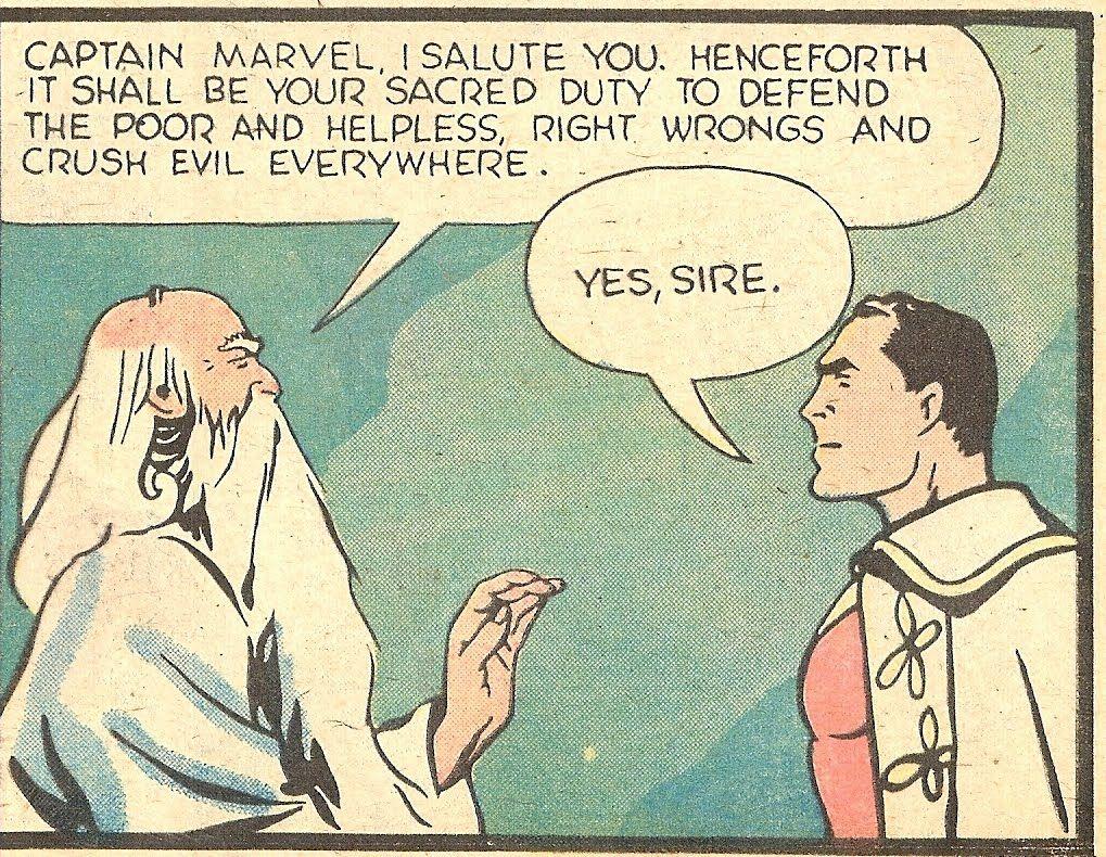 Shazam and Captain Marvel