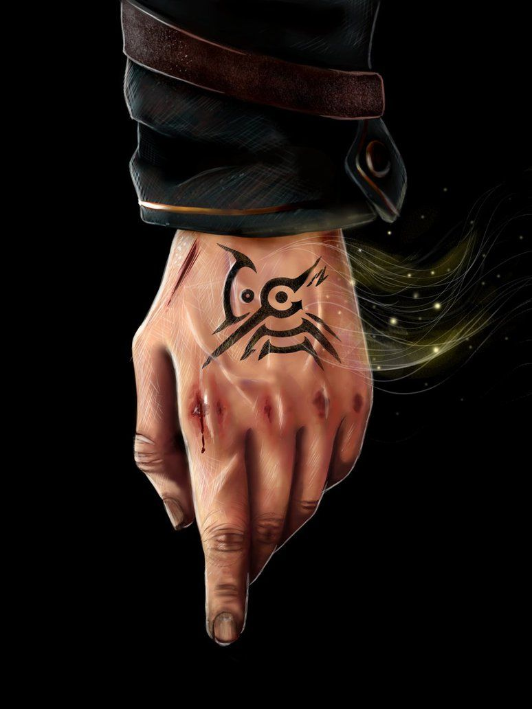 DH] Dishonored by Roxslon on DeviantArt | Gaming tattoo, Video game tattoos, Dishonored tattoo