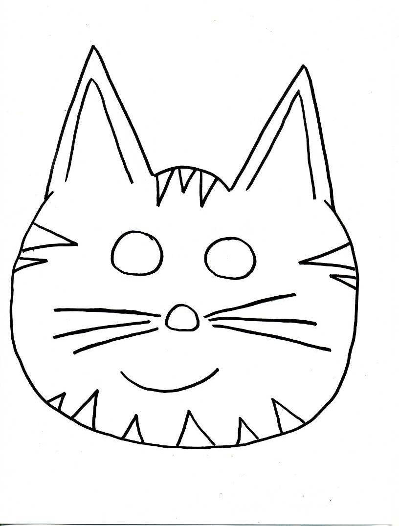 Tiermasken basteln:14 verspielte Ideen+Druckvorlagen | Tiermasken ...