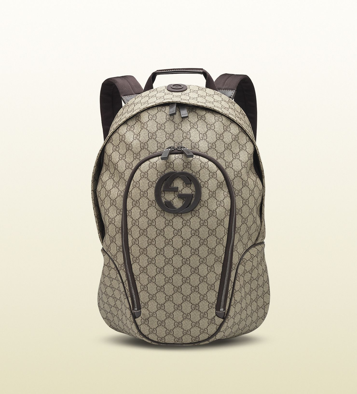 5998cfdf8995 GG supreme canvas interlocking G backpack. GG supreme canvas interlocking G  backpack Luggage Bags