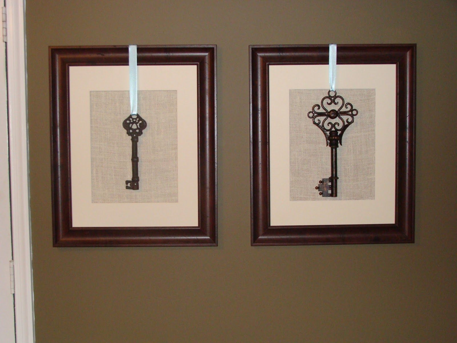 Cool And Easy Wall Art Frames And Skeleton Keys