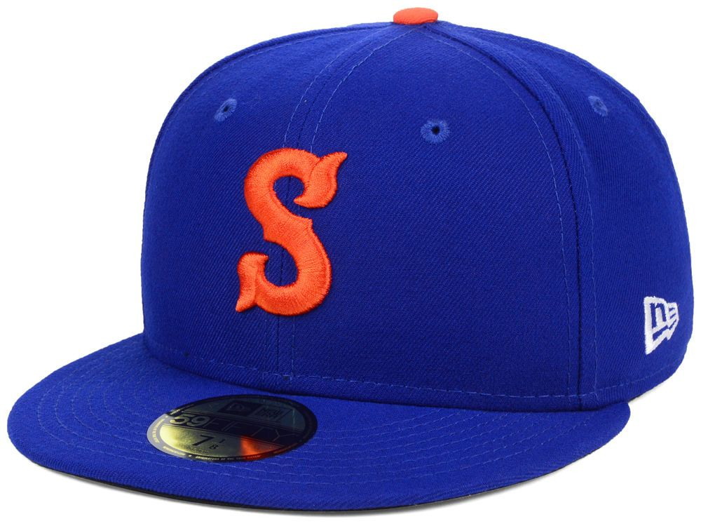 arrives authorized site online shop Syracuse Mets New Era MiLB AC 59FIFTY Cap   New era, Fitted caps ...