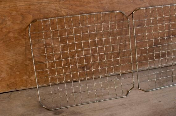 Primitive Cooling Racks Farmhouse Cooling Rack Metal Mesh Tray