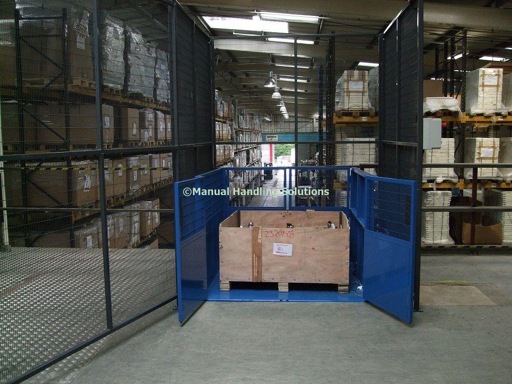 Mezzanine Goods Lift Pallet For a quotation please contact - website quotation