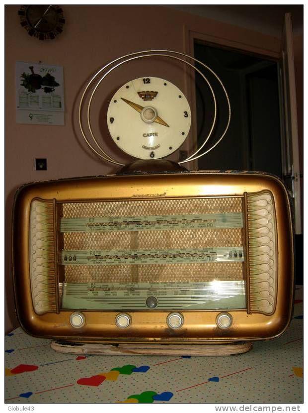 POSTE DE RADIO SONNECLAIR AVEC ANTENNE CELARD GRENOBLE D 33cm