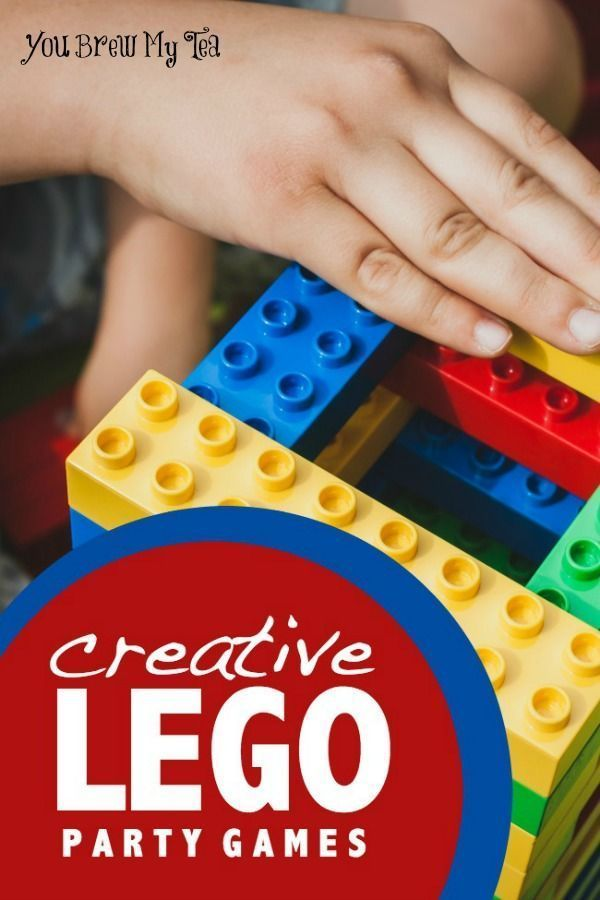 Creative Lego Party Games Lego party games Party games and Lego