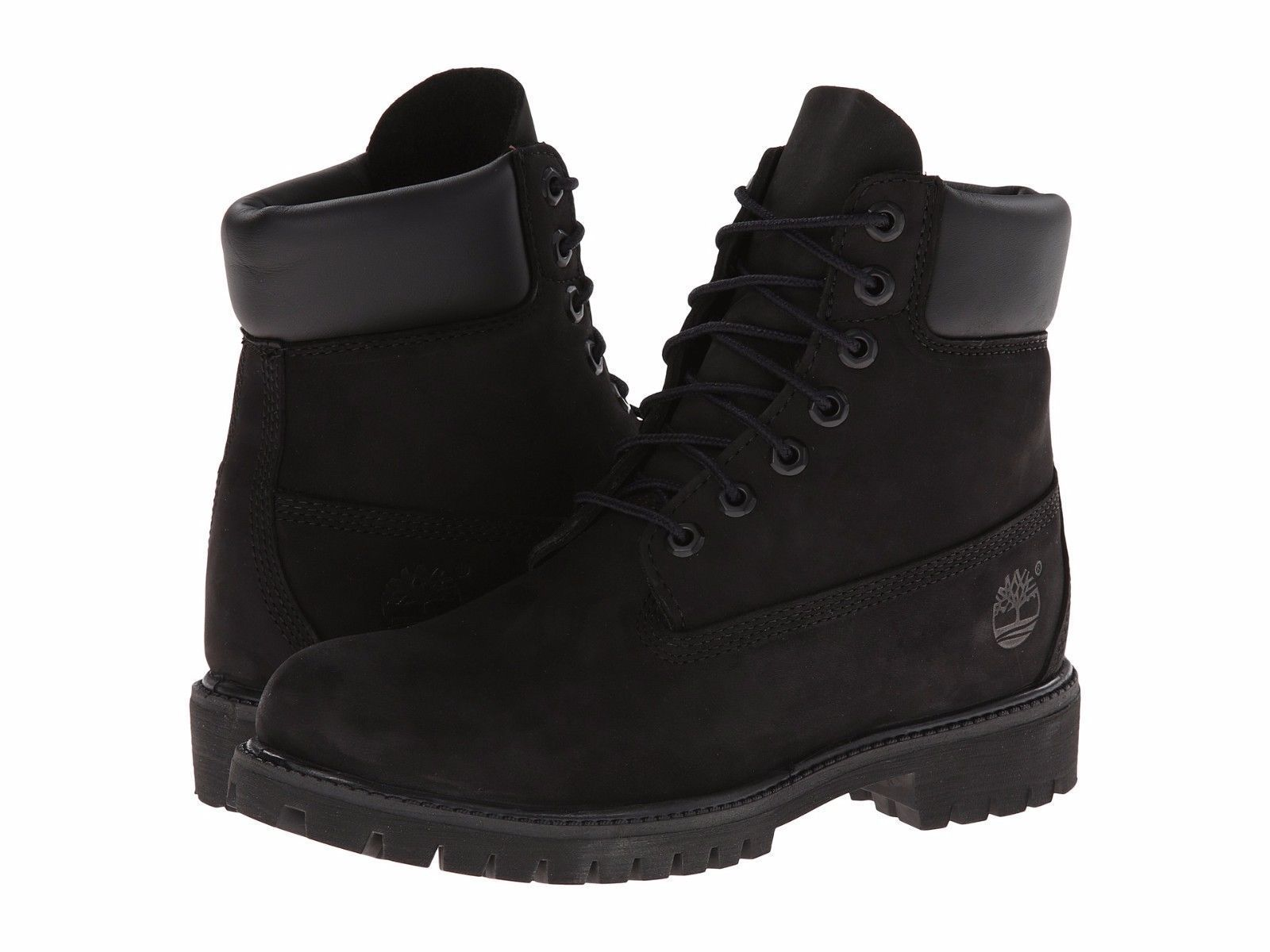 93ea6dc1010d Women S Shoe Timberland 6 Inch Premium Waterproof Lace Up Boots Black 8658A