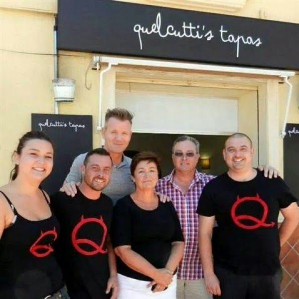 Reality Tv Revisited: Kitchen Nightmares Blog - Quelcuttis Tapas ...
