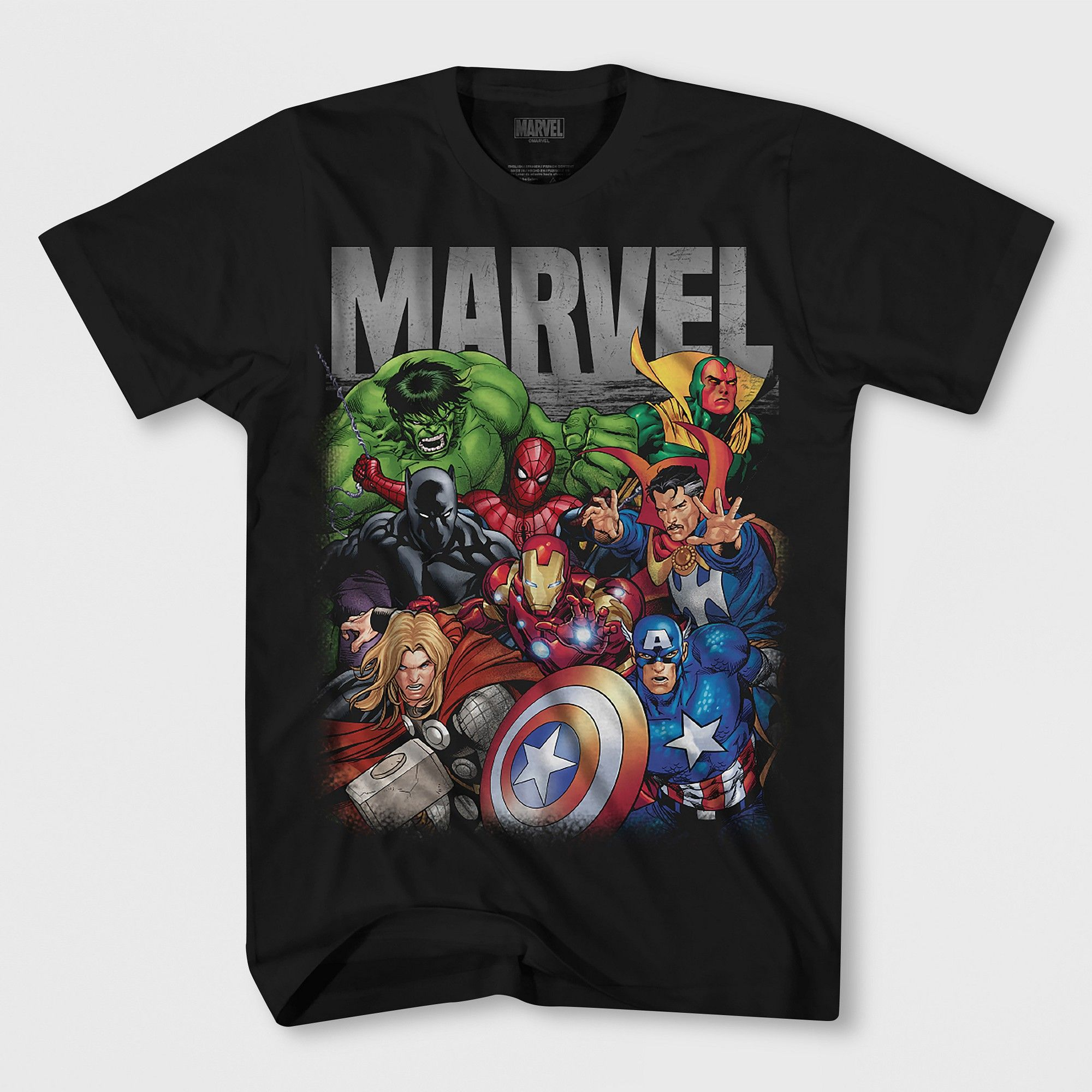 Ropa de niña (2 16 años) Marvel niñas Hulk Krunch Camiseta