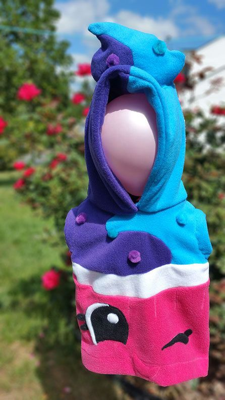 #SHOPKINS inspired KIDS Mr. Muffin Hoodie Costume by INANAICLOTHING #boy