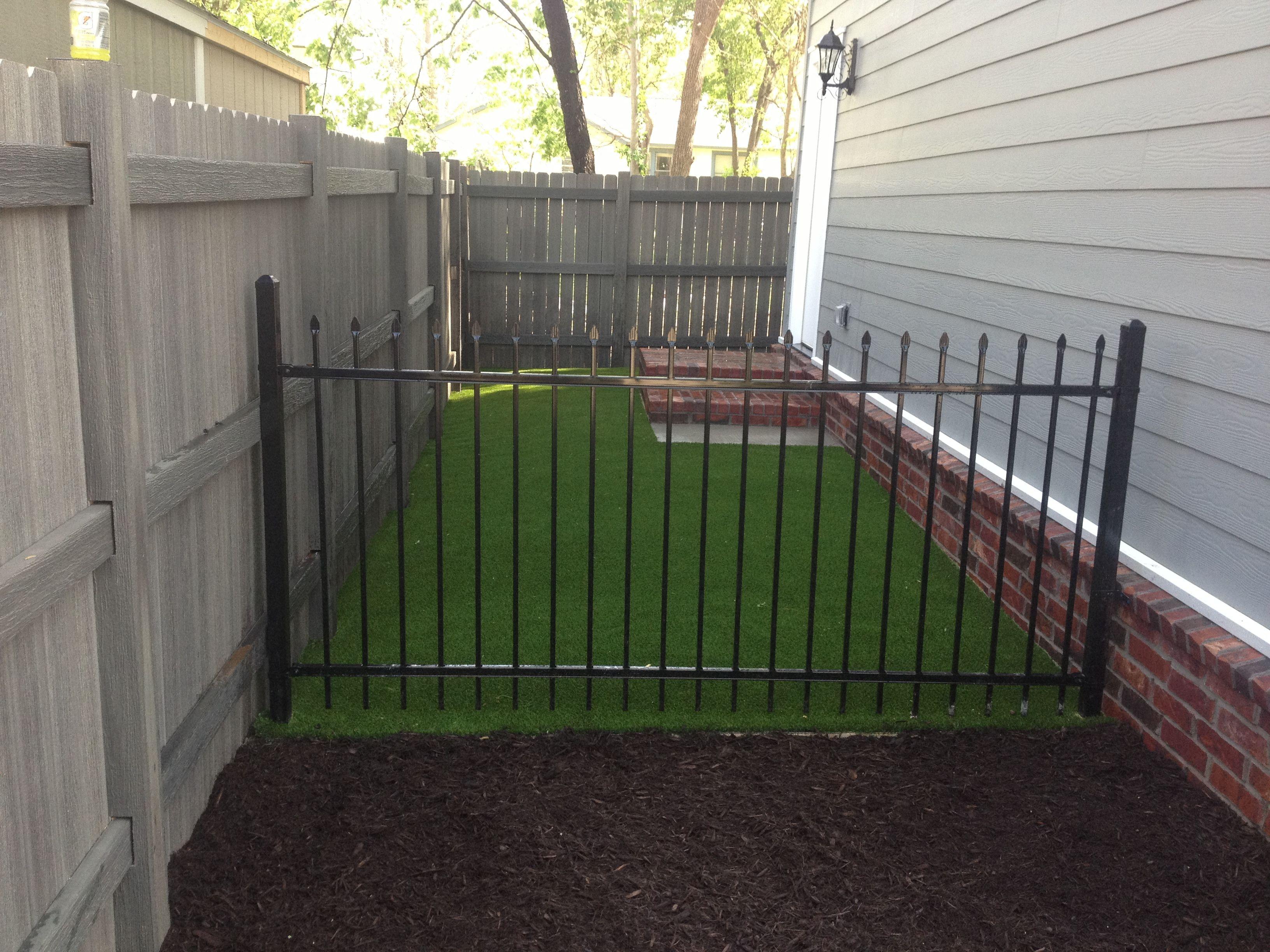 Side yard solution! Pet friendly XGrass artificial turf
