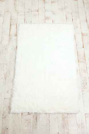 Faux Sheep Skin Rug - Urban Outfitters 2feet by 3feet $59