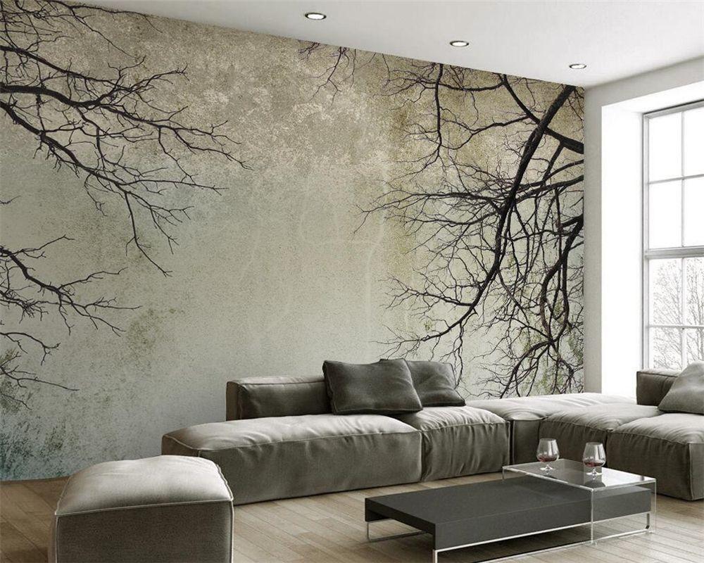 Beibehang 3d muur papier Aanpassen elke maat 3 d woonkamer ...