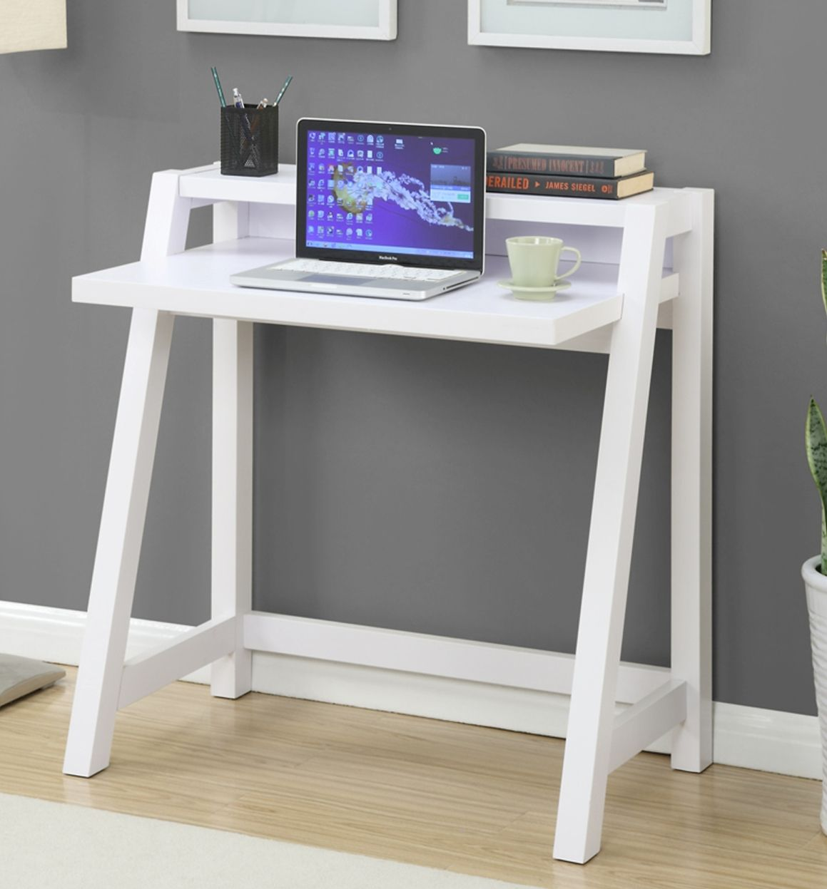 Newport Lilly Desk In White Finish