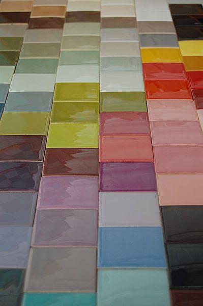 Carrelage couleur salle de bain futur tage pinterest for Carrelage 2 couleurs