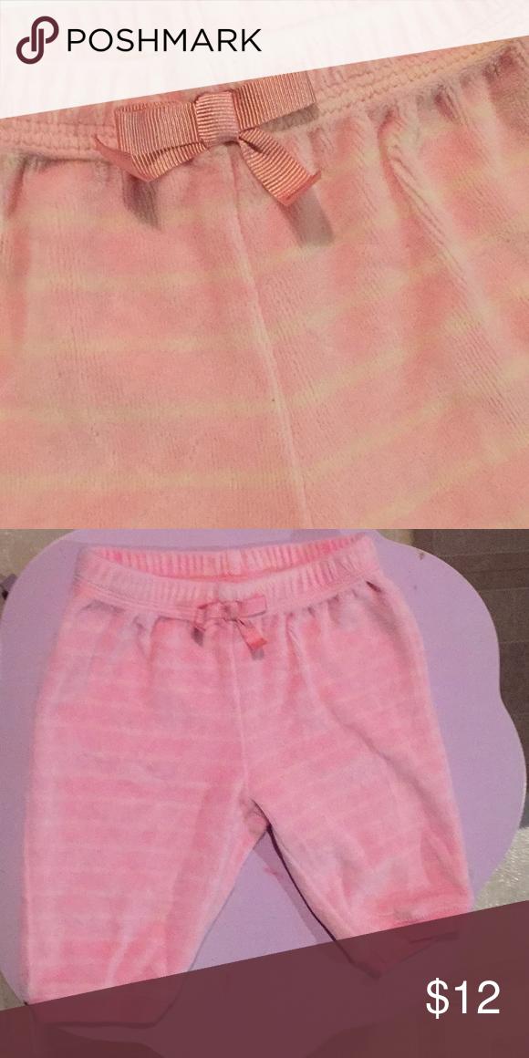 GYMBOREE P/W striped SweatPants