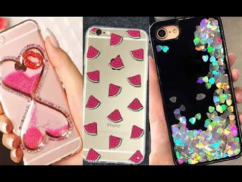 Fundas para celular hechas a mano 3 diy manualidades faciles y sencillas youtube - Como decorar una funda de movil ...