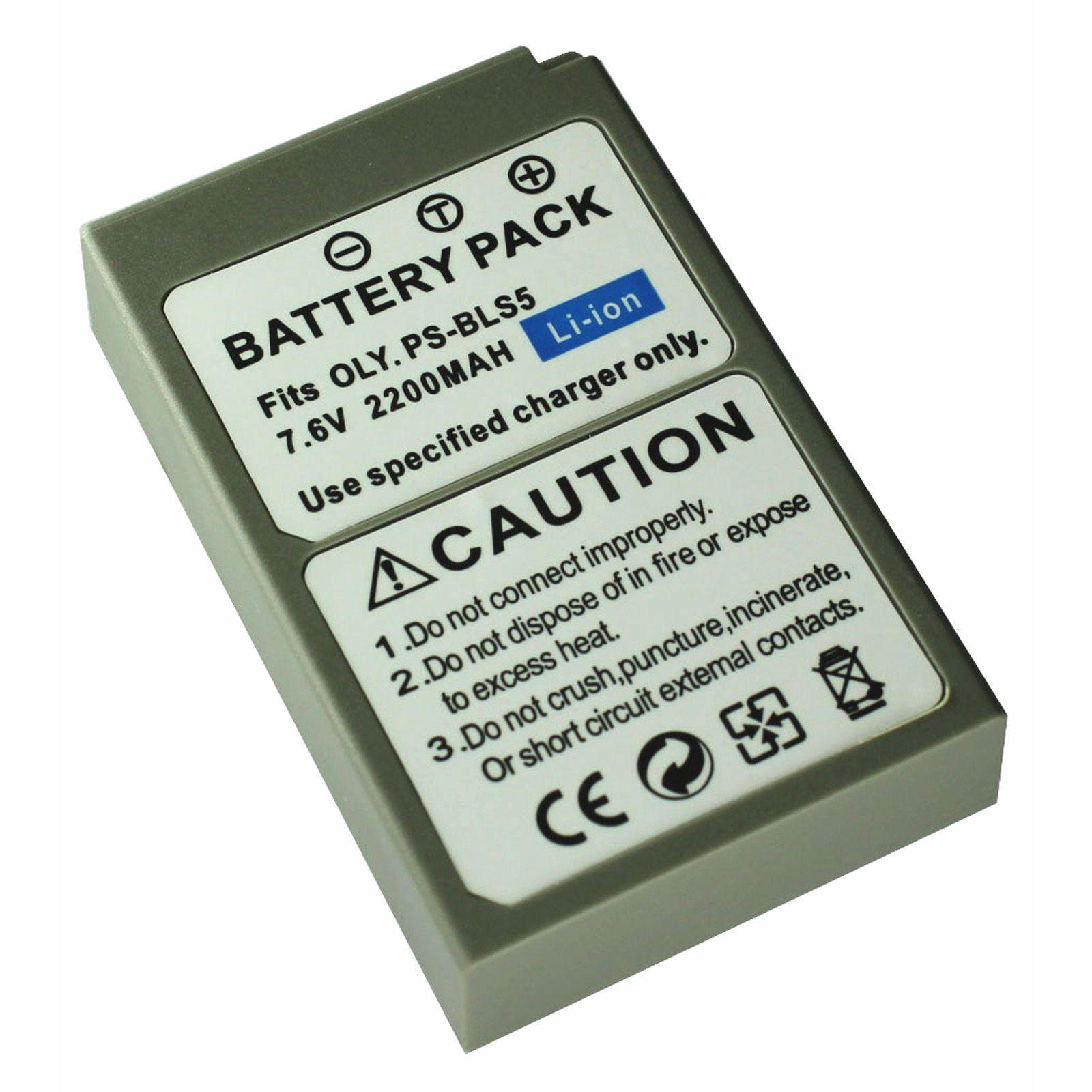 Ladegerät für Olympus BLS 5 BLS 50 BLS5 PS BLS5 EM10 Mark II