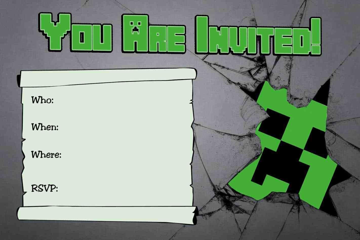 Homemade Birthday Card Ideas Yuntae Birthday Card Belated Birthday Wishes Ecard Minecraft Party Invitations Minecraft Birthday Minecraft Birthday Invitations