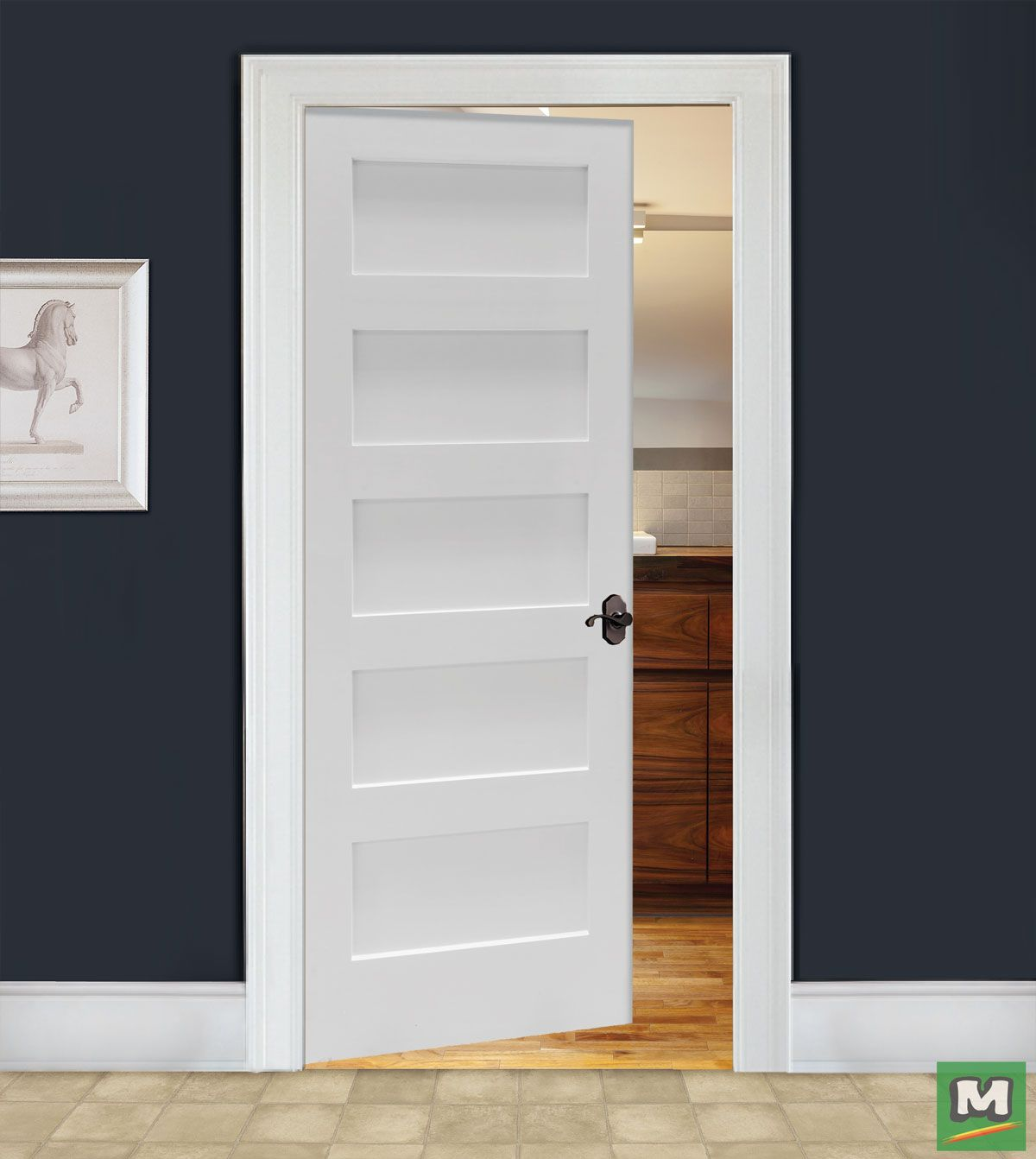 The Five Panel Door From Mastercraft Will Suit Any Entryway In